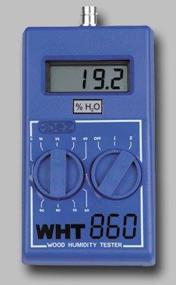 Elbez WHT-860 | Vlhkoměr pro měření vlhkosti dřeva a zdiva včetně lehké hrotové elektrody a pouzdra