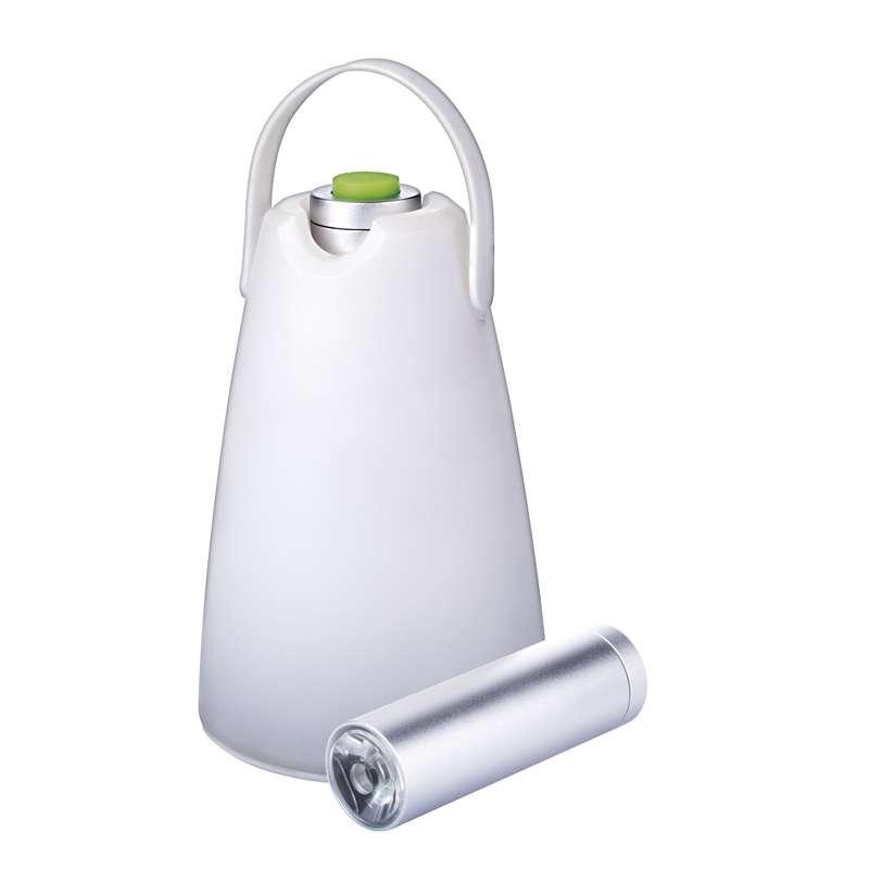 Emos Kempinková svítilna LED, 2v1, na 3x AAA | P4005