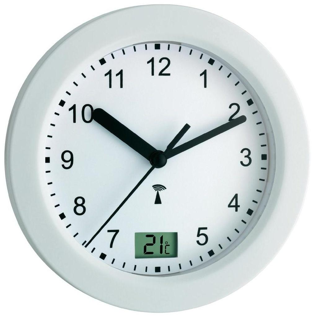 TFA Dostmann Koupelnové hodiny s teploměrem TFA 60.3501