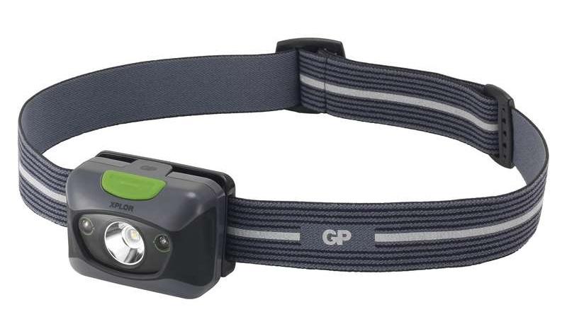 Emos Čelovka GP PH14 na 3x AAA, 1x LED 3W + 2x rudá LED | P8560
