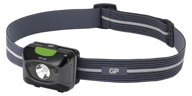 Emos Čelovka GP PHR15 na 3x AAA, 1x CREE LED 5W s USB nabíjením | P8562