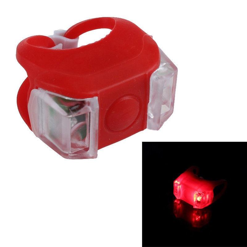 OEM LED cyklo-svítilna, 2x výkonná červená LED, svícení, blikání