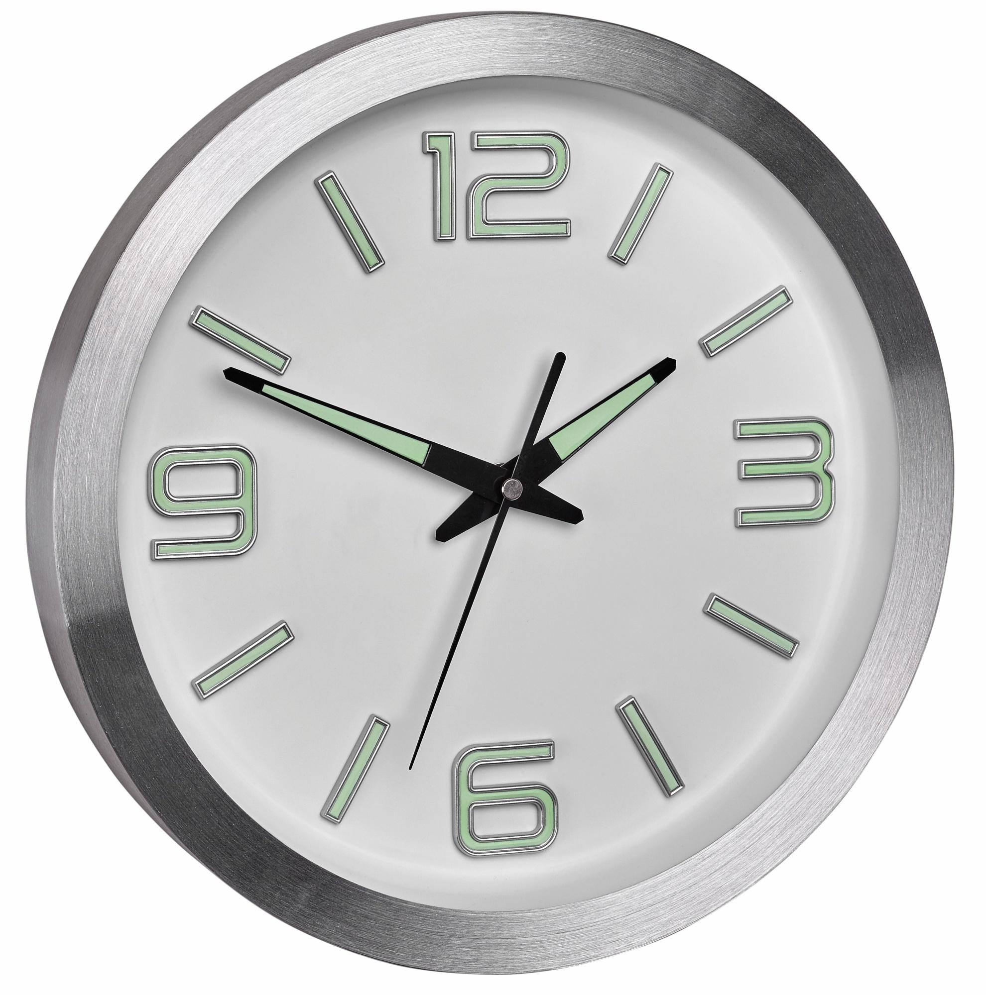 TFA Dostmann Rádiem řízené nástěnné hodiny TFA 60.3526.02