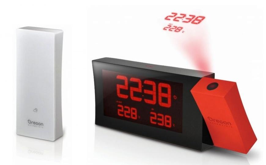 Garni technology Digitální budík s projekcí RMR221P PRYSMA