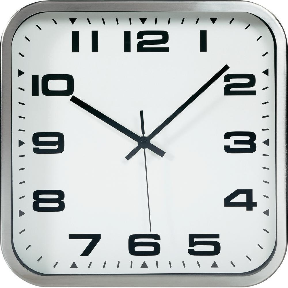 TFA Dostmann Čtvercové nástěnné hodiny TFA 60.3013 - 300 x 300 mm