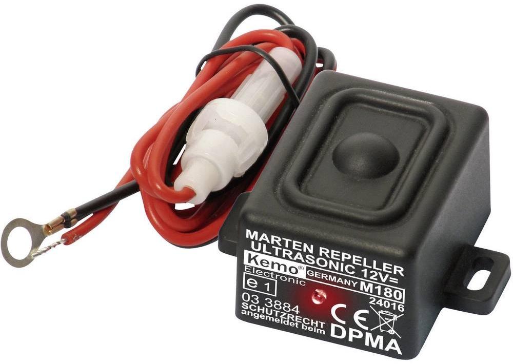 Kemo Electronic Vodotěsný odpuzovač kun do auta Kemo M180