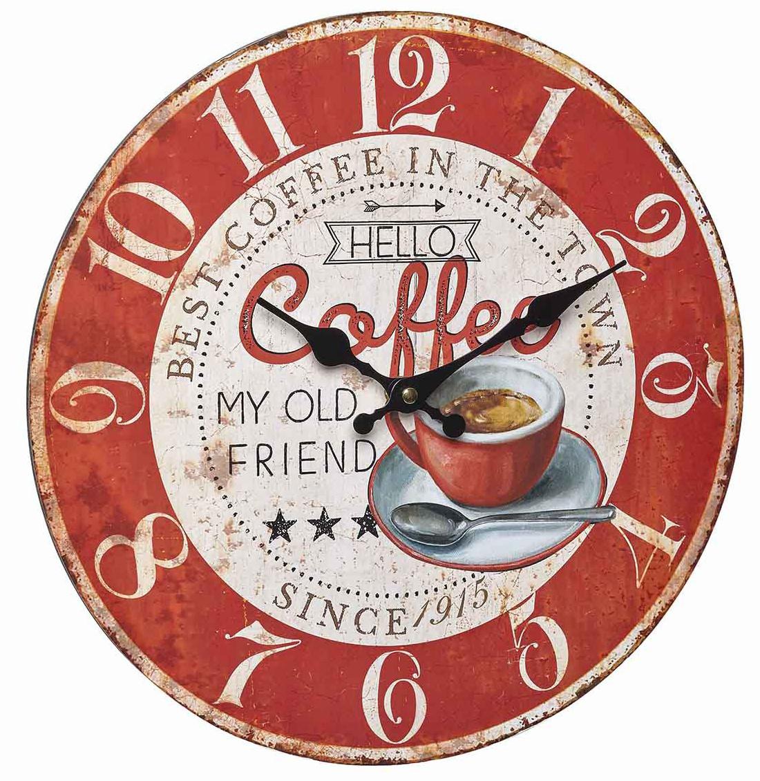 TFA Dostmann Vintage hodiny, Coffee TFA 60.3045.12