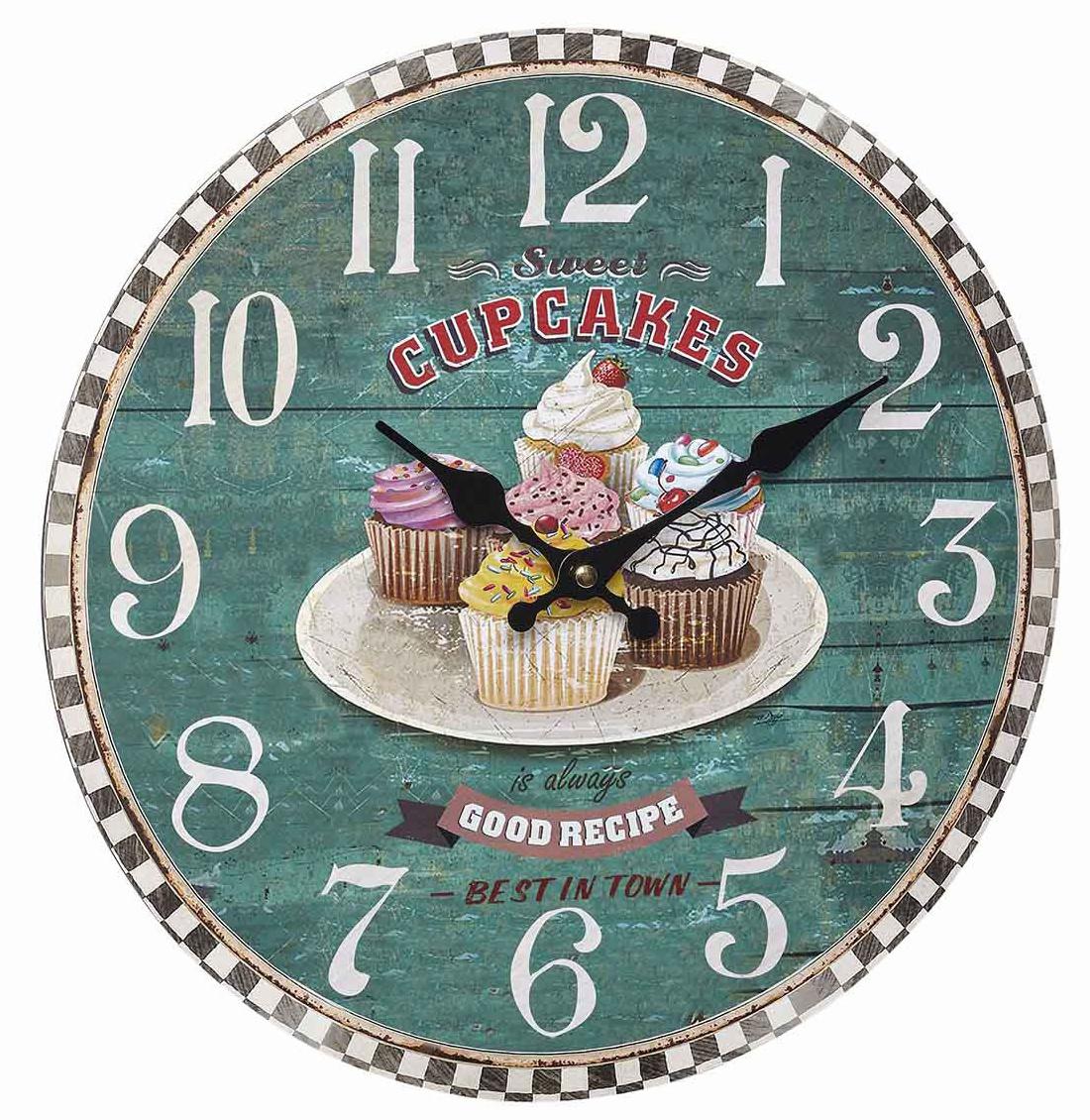 TFA Dostmann Vintage hodiny, Cupcakes TFA 60.3045.13