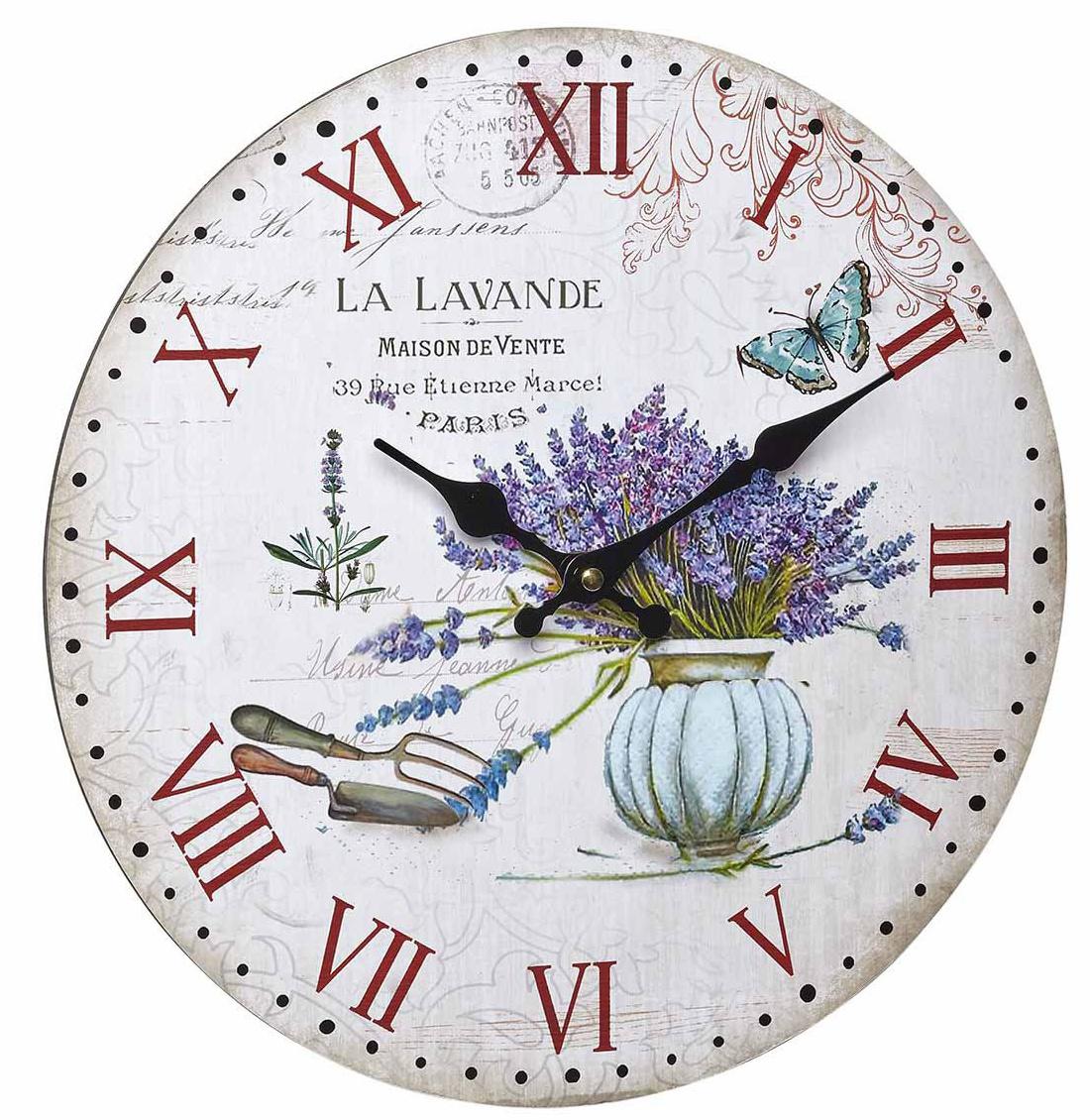 TFA Dostmann Vintage hodiny, La lavande TFA 60.3045.14