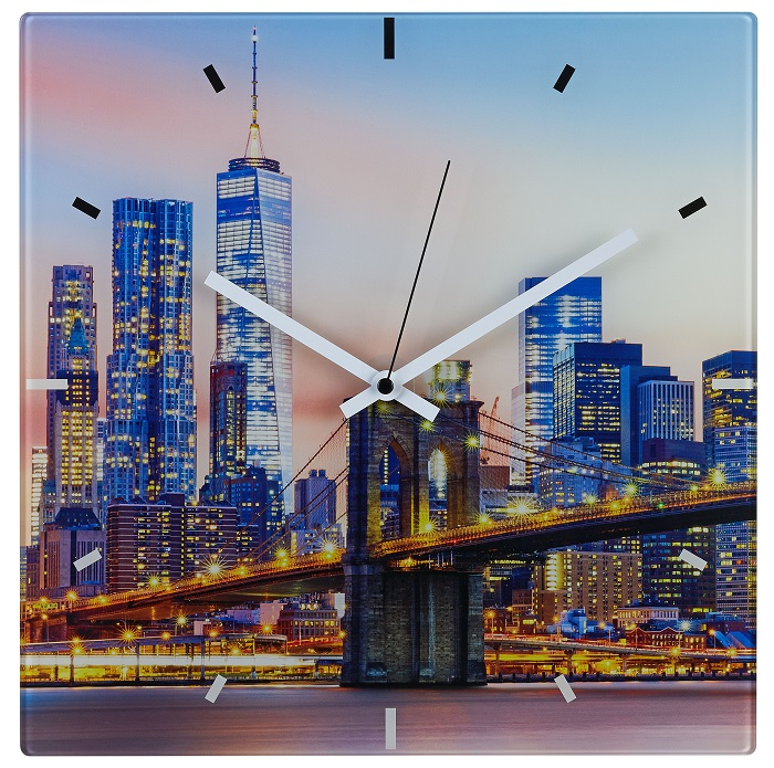 TFA Dostmann Nástěnné hodiny řízené DCF signálem TFA 60.3531.90