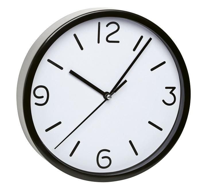 TFA Dostmann Nástěnné hodiny černé TFA 60.3033.01