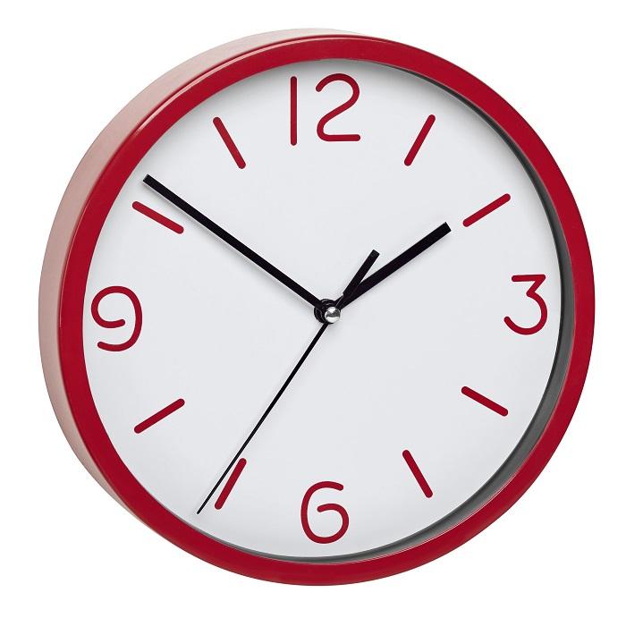 TFA Dostmann Nástěnné hodiny červené TFA 60.3033.05