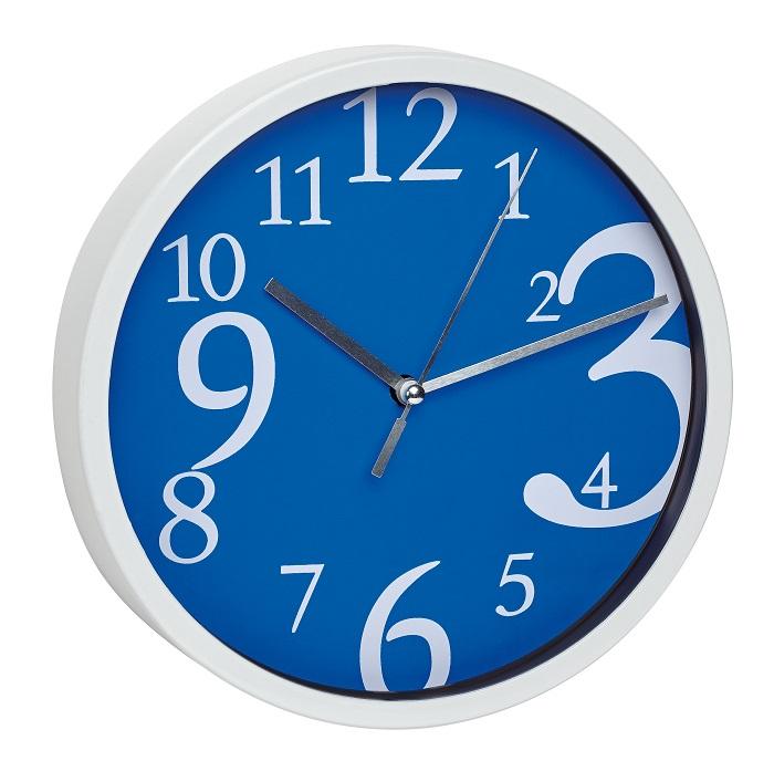 TFA Dostmann Nástěnné hodiny modré TFA 60.3034.06