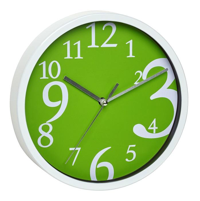 TFA Dostmann Nástěnné hodiny zelené TFA 60.3034.04