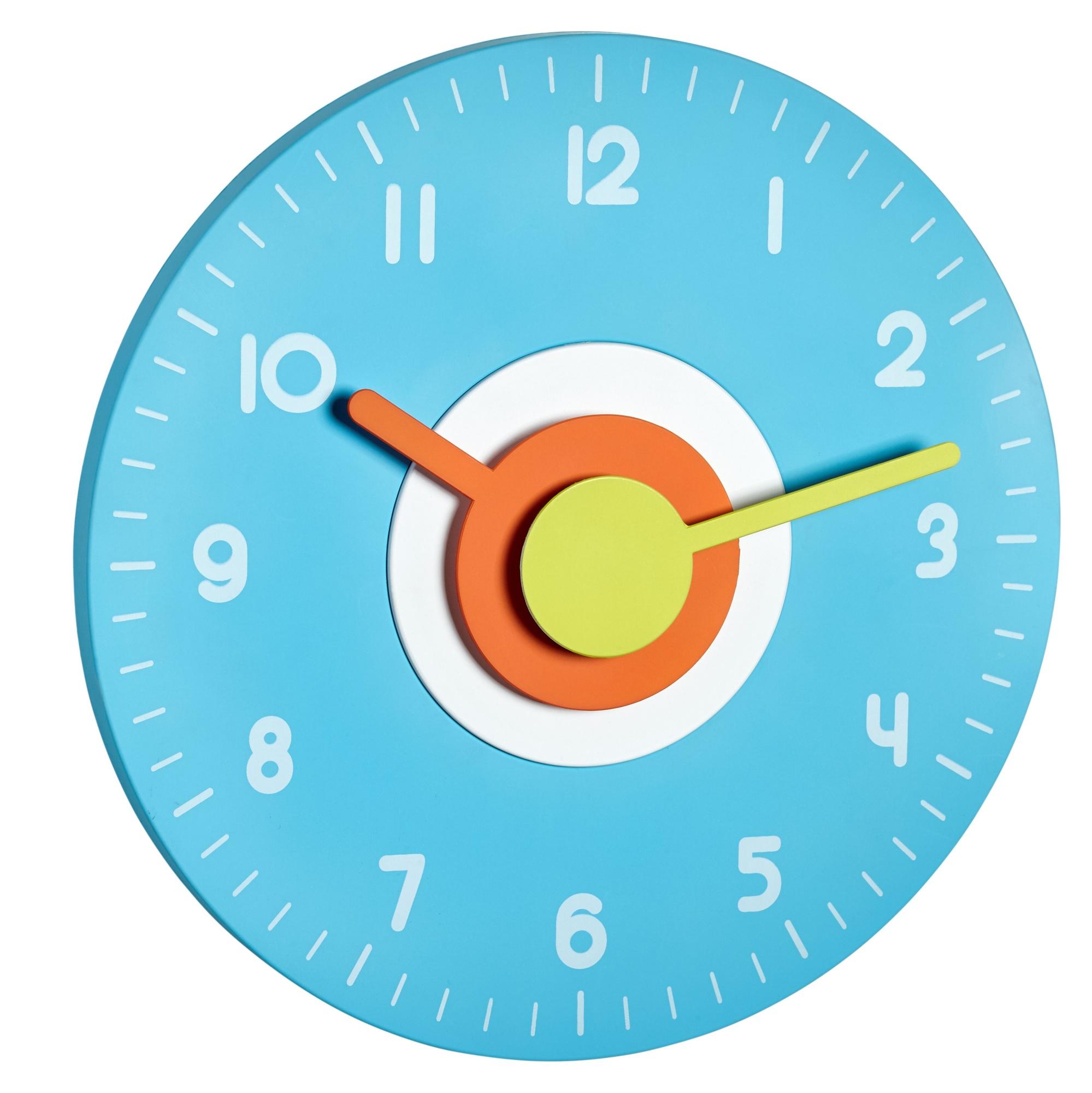 TFA Dostmann Nástěnné hodiny modré TFA 60.3015.06 POLO