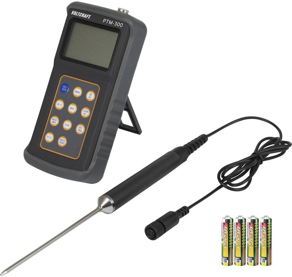Teploměr VOLTCRAFT PTM-300 VC-8242785, -200 až 850 °C, typ senzoru Pt100