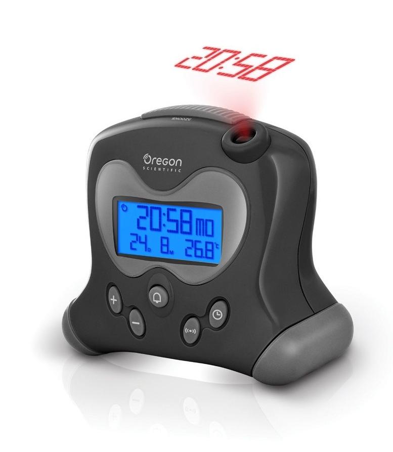 Oregon Scientific Digitální budík s projekcí času RM313PBK