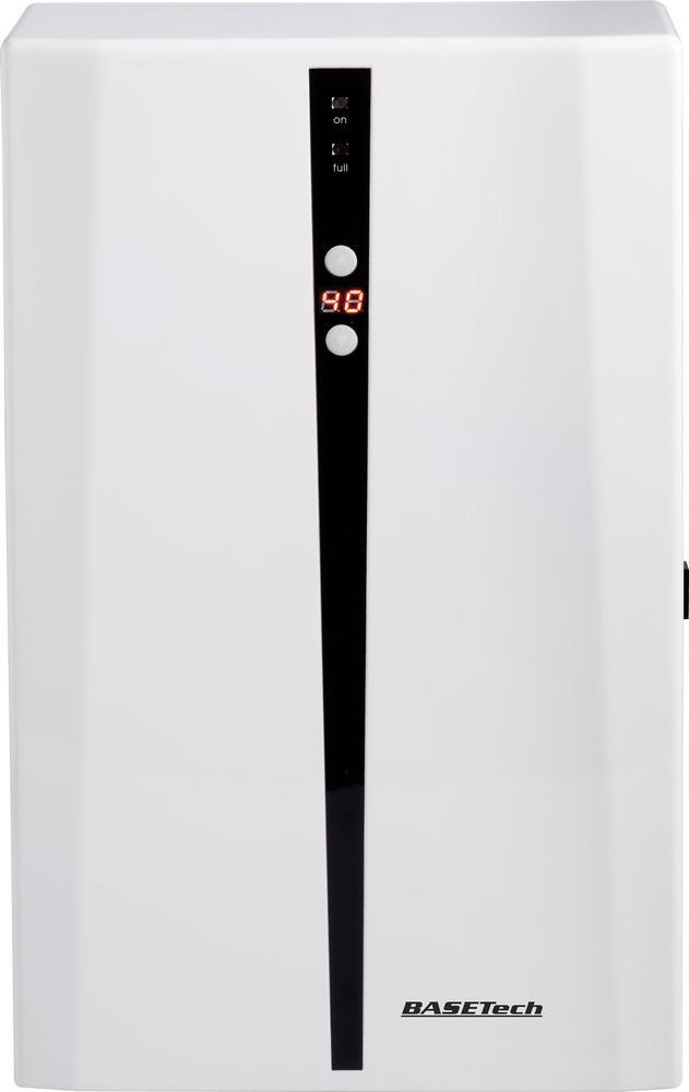 BaseTech Odvlhčovač vzduchu 0,72 l/den | 20 m² | 72 W | Bílý