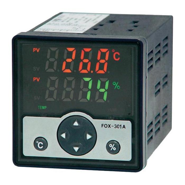 Conrad Digitální regulátor vlhkosti a teploty s čidlem FOX 301