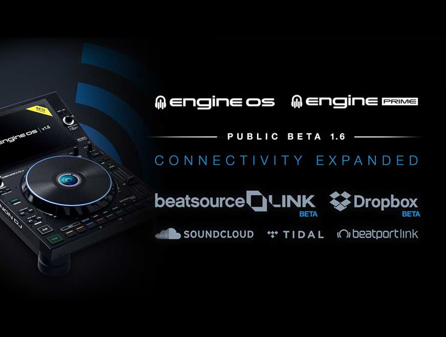 Engine DJ rozšiřuje konektivitu v rámci cloudových služeb Dropbox a Beatsource Link