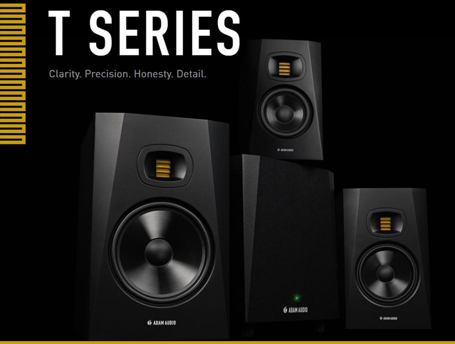 ADAM Audio T Series - přehled řady
