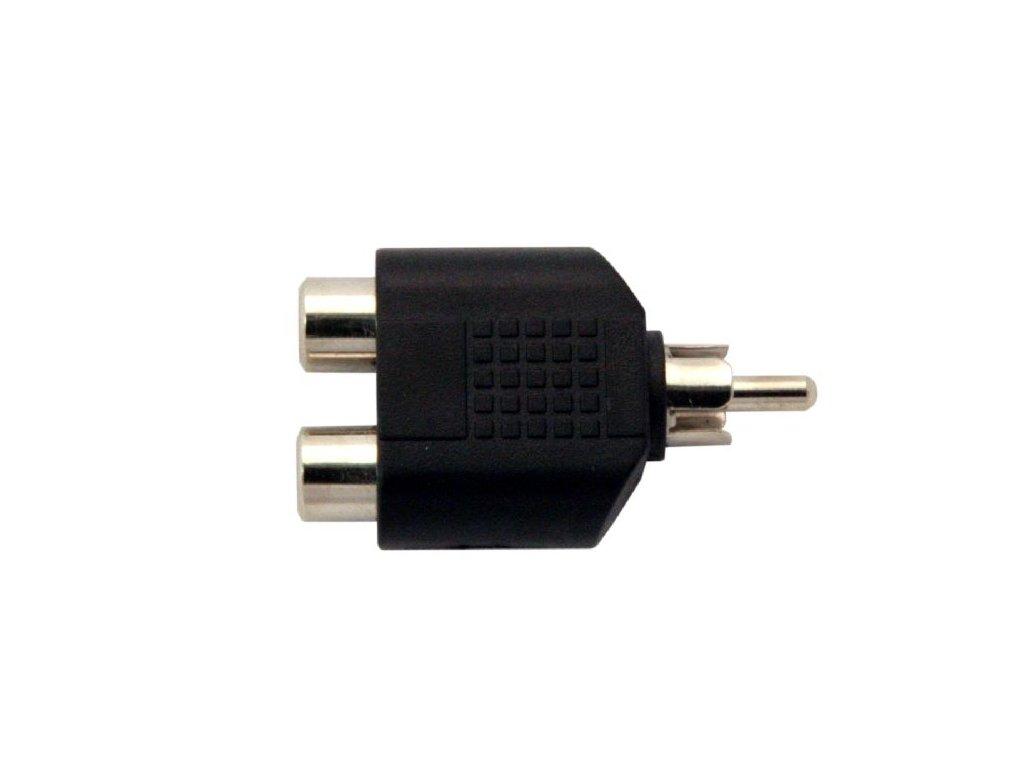 Adapter 2x cinch F/cinch M