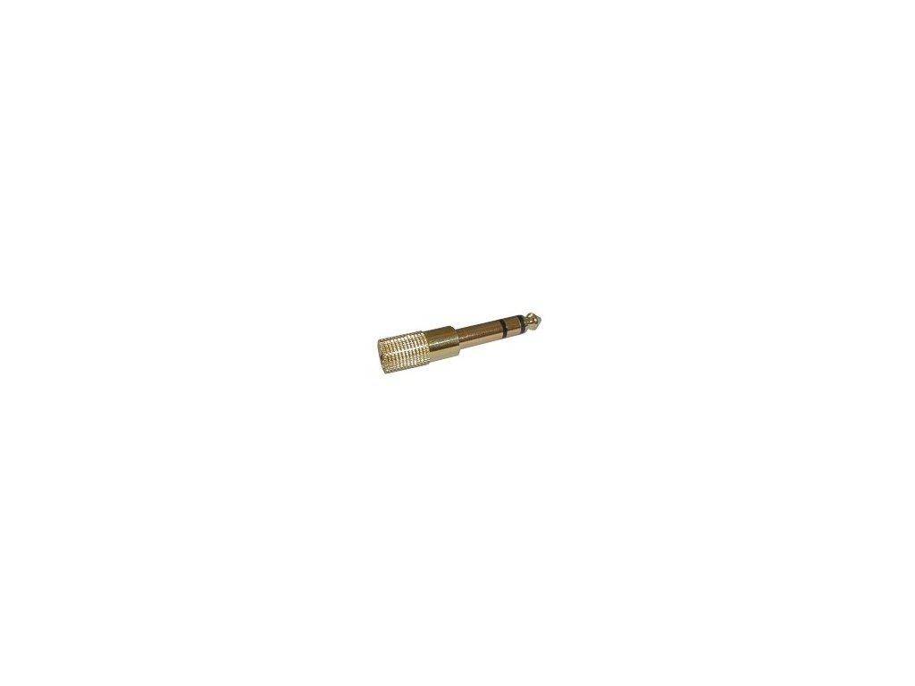 Adapter jack 3.5 F/jack 6.3M G