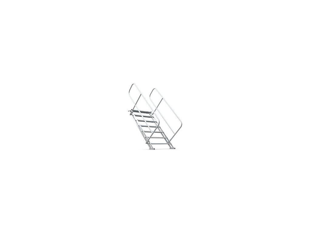 MILOS X-stage schody 100-150 cm