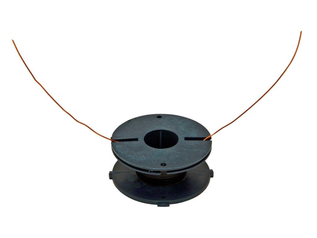 Cívka 0,65 mH drát 0,8 mm