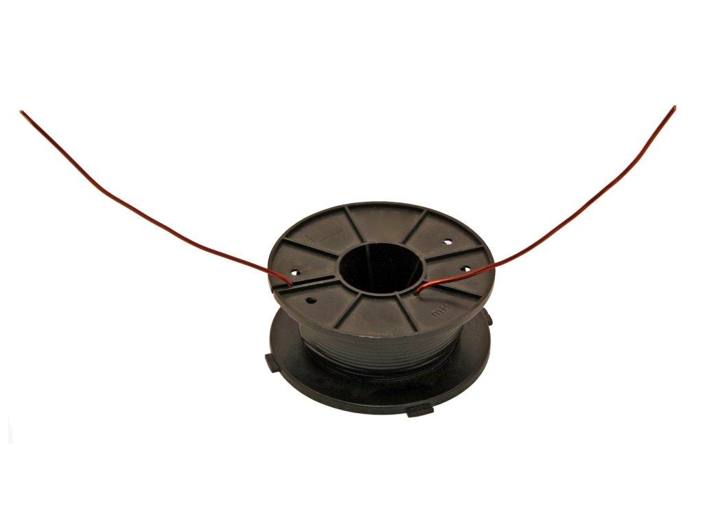 Cívka 0,80 mH drát 1,25 mm
