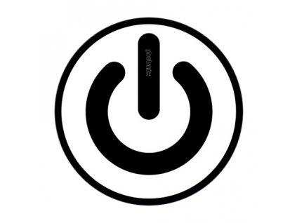 Glowtronics Slipmat Denon On/Off Button