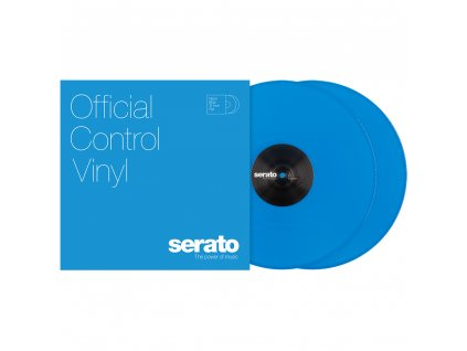 Serato Serato NEON Vinyl blue