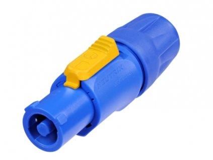 Neutrik NAC3FCA Inlet kabel /modrý/