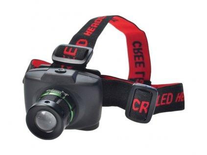 Svítilna čelovka LED Cree 3W