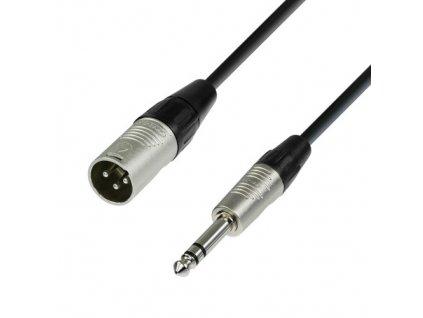 Adam Hall kabel XLR M-Jack 6,3 6m NEU