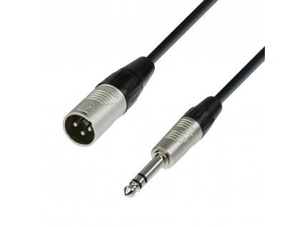 Adam Hall kabel XLR M-Jack 6,3 3m NEU