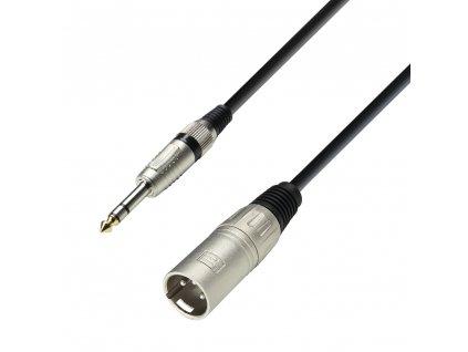 Adam Hall kabel XLR M-Jack 6,3 3 3m