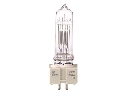 GE Lighting CP70 FVA, 230V 1000W, GX9.5 GE