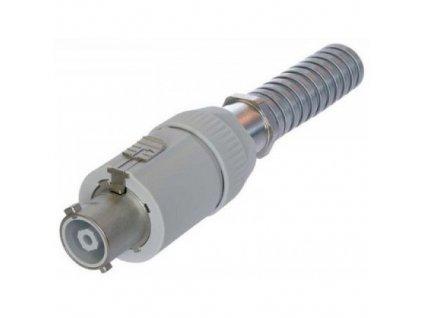 Neutrik NAC3-2FC kabel /šedý/