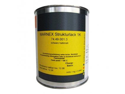 WB LACKE Warnex černá RAL9005 12 kg