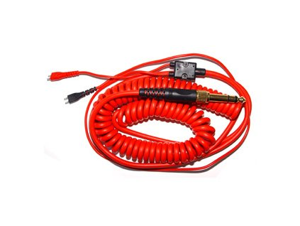ZOMO Kabel HD-25 spiral deluxe red