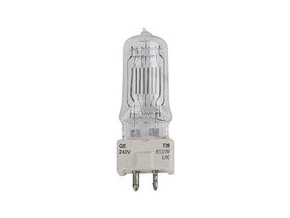 GE Lighting T26 GC, 240V 650W, GY9.5