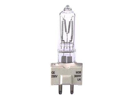 GE Lighting M38, 230V 300W, GY9.5.