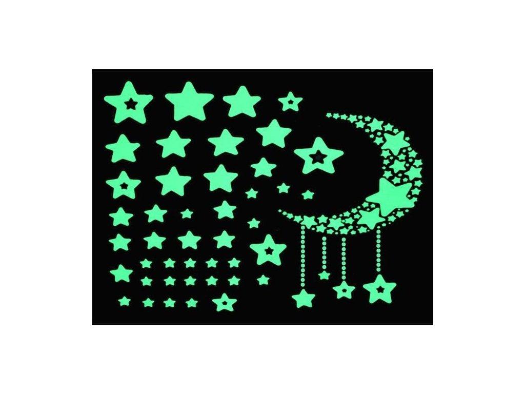 fluorescentní hvězdy