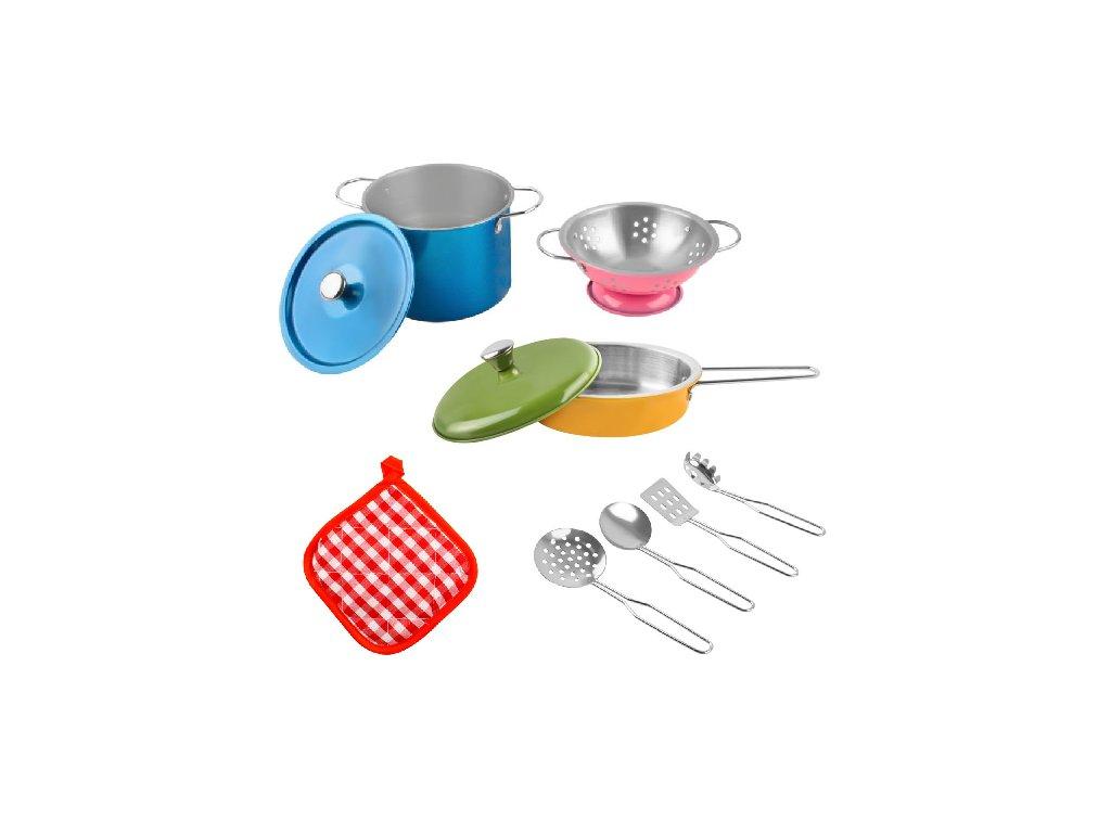 Kovové nádobí pro děti 1