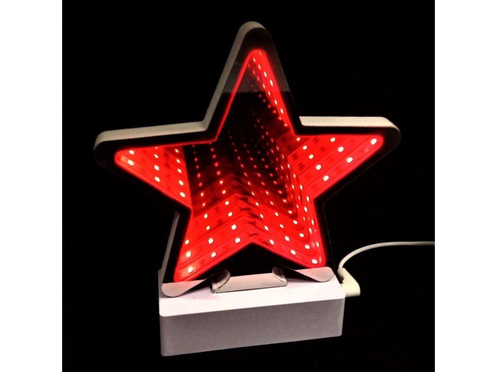 3D nekonečné světlo hvězda