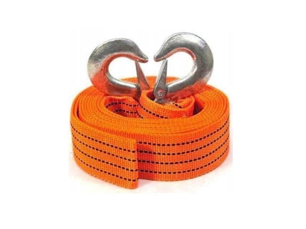 Popruh 3 m oranžový