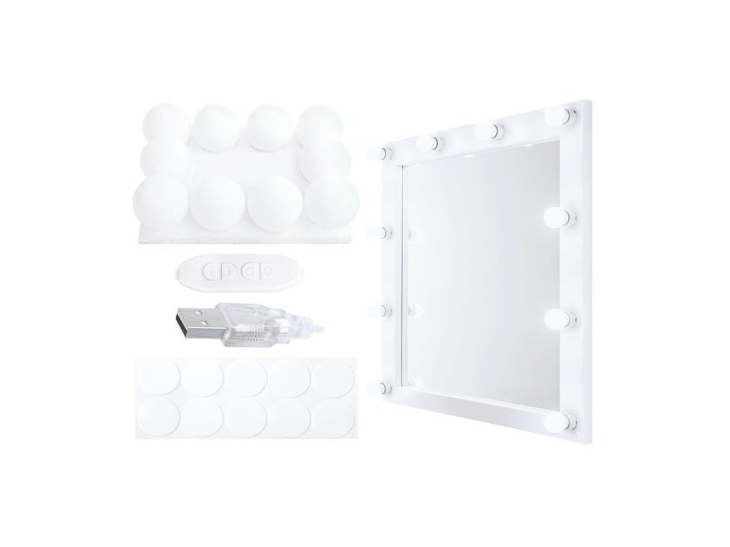 LED světla na zrcadlo 1