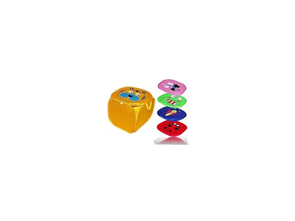 skládací koš na hračky