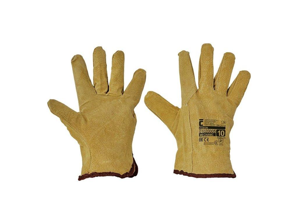Pracovní rukavice Červa Pigeon, velikost 10